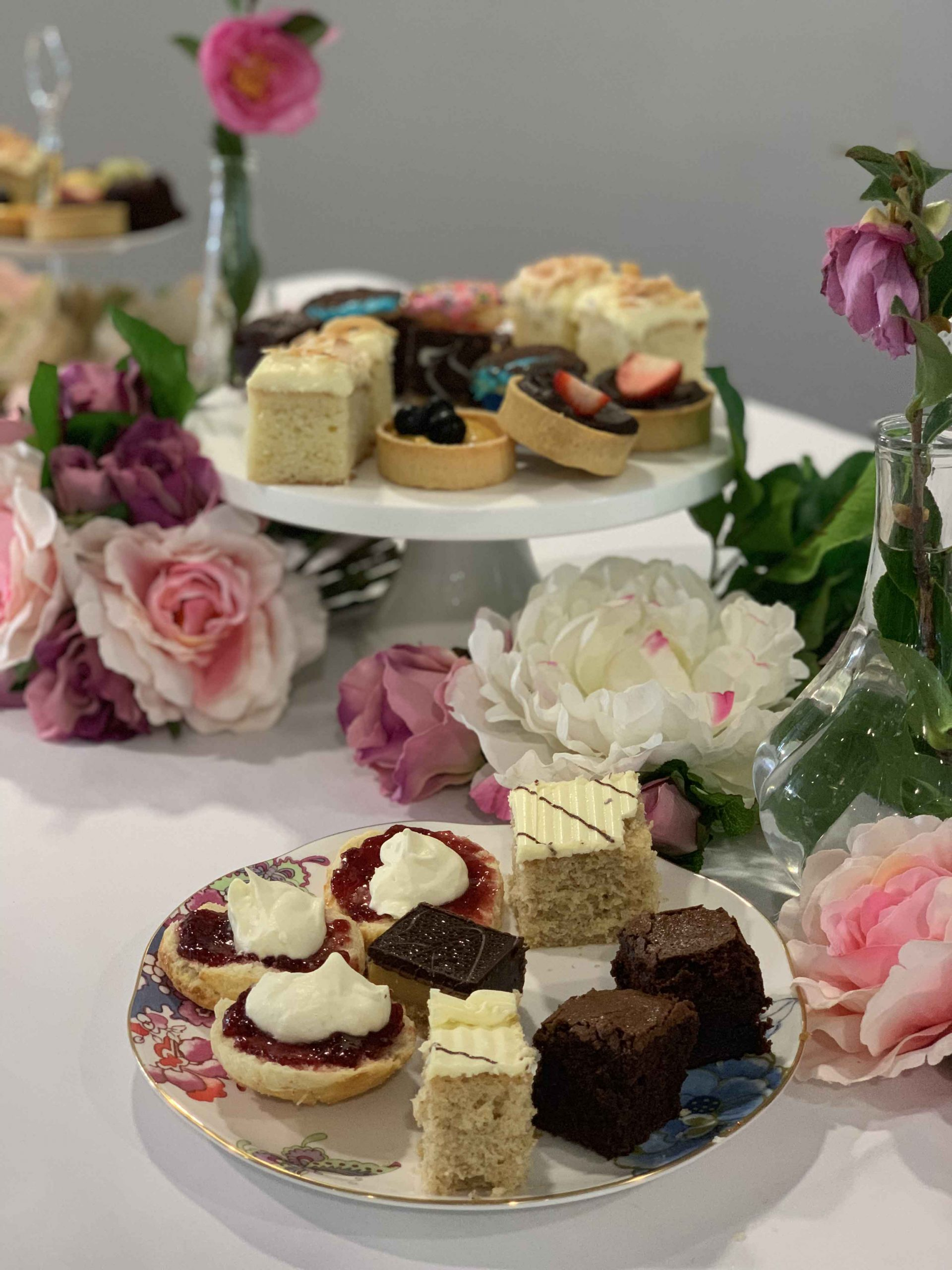 Catering Cake Platters