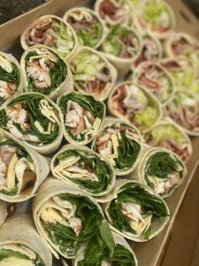Catering Wrap Platter